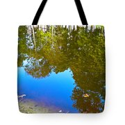 All Pond Treeflections Tote Bag