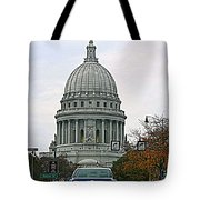 All Streets Lead To The Capital Tote Bag