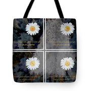 All That I Need Will Come To Me With Overlay Tote Bag