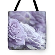 All The Lavender Roses Tote Bag