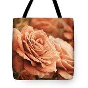 All The Orange Roses Tote Bag