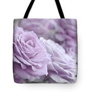 All The Soft Violet Roses Tote Bag