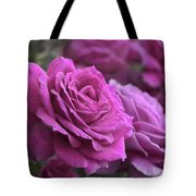 All The Violet Roses Tote Bag