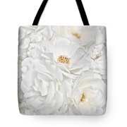 All The White Roses  Tote Bag