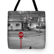 All Way Stop Tote Bag