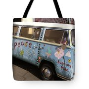 All We Want Is Peace Tote Bag