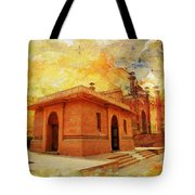 Allama Iqbal Tomb Tote Bag
