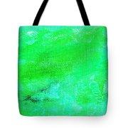 Allegory Aqua Green Tote Bag