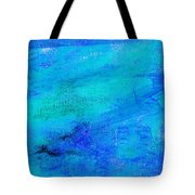 Allegory Blue Tote Bag