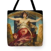 Allegory Of Religious And Profane Painting  Tote Bag