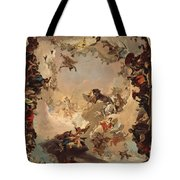 Allegory Of The Planets And Continents Tote Bag