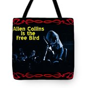 A C  Is The Blue Free Bird Tote Bag