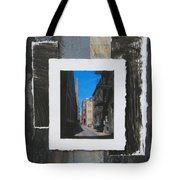 Alley 3rd Ward And Abstract Tote Bag