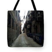 Alley 7 Tote Bag