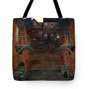 Alley At Dusk Tote Bag