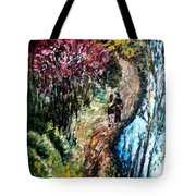 Alley By The Lake Tote Bag