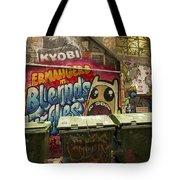 Alley Graffiti Tote Bag