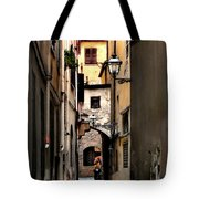 Alley In Florence 1 Tote Bag