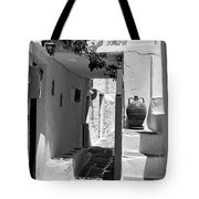 Alley In Kastro Village Tote Bag