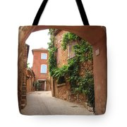 Alley In Roussillion Tote Bag