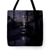 Alley Night Tote Bag