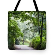 Alley Of The Petrin Park. Prague Tote Bag