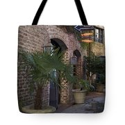 Alley Restaurant Tote Bag
