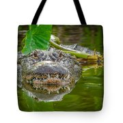 Alligator 2 Tote Bag