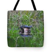Alligator Appetite Tote Bag