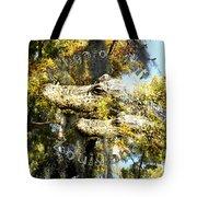 Alligator Bait Tote Bag