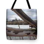Alligator Branch Tote Bag