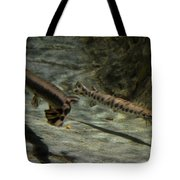 Alligator Gars Tote Bag