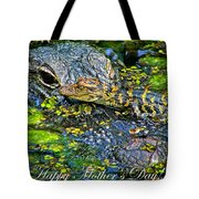 Alligator Mother's Day Tote Bag