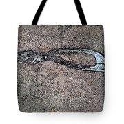 Alligator Skull Fossil 3 Tote Bag