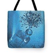 Allium Cyanotype Tote Bag