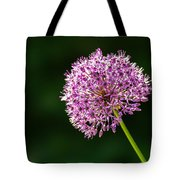 Allium Flower Tote Bag
