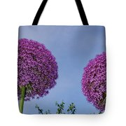 Allium Flowers Tote Bag