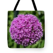 Allium Globe Tote Bag