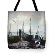 Allonby - Fishing Village 1840s Tote Bag