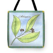 Allspice Illustration Tote Bag