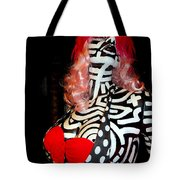 Alluringly Abstract Tote Bag