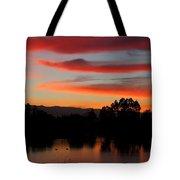 Almaden Sunset Tote Bag