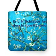 Almond Blossom Branches Tote Bag