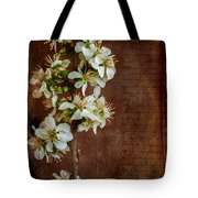 Almond Blossom Tote Bag by Marco Oliveira