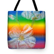 Almond Branch In The Spectrum Tote Bag