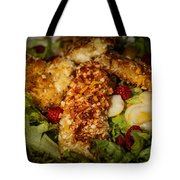 Almond Encrusted Chicken Salad 2 Tote Bag
