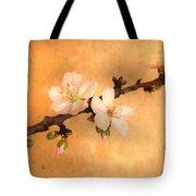 Almond Flowers Tote Bag