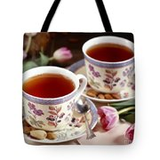 Almond Tea For Two Tote Bag
