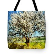 Almond Tree Tote Bag