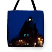 Almonte Ontario At Night Tote Bag